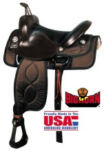 "Bighorn Synthetic 17"" Saddle"