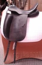 "County Fusion Saddle 17.5"" Used"