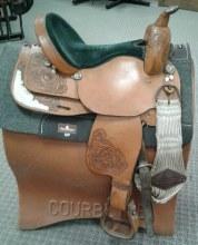 """Guffy Show Saddle 14.5"""" Used"""
