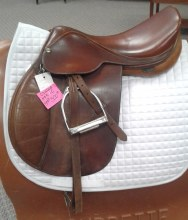 """HDR Close Contact Saddle 17"""" Used"""