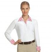 Show Shirt Long Sleeve Lindsay White Small
