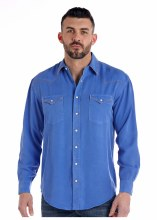 Mens Rough Stock Long Sleeve Tencil S
