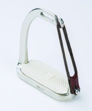 Stainless Steel Peacock Fillis Stirrup Irons