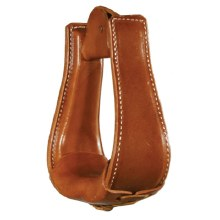 Circle Y Leather Covered Stirrup