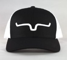 Weekly Trucker Cap Black/White