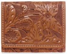 Las Flores Tri-Fold Wallet