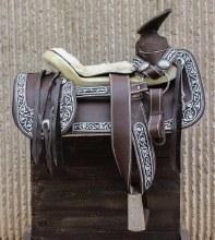 """15"""" Montura Con Cantinas(FINA) saddle"""