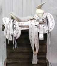 """15"""" Mexican Charro Saddle Montura"""