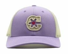 "Purple ""C"" Hat"