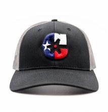 "Black ""TX"" Snapback"