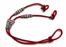 Red & black thick reins