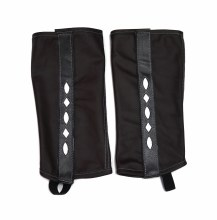 Polainas Leather Black (L) Half chaps