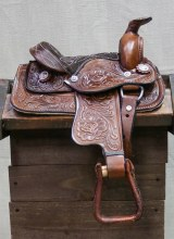 "8"" Brown Pony Saddle"