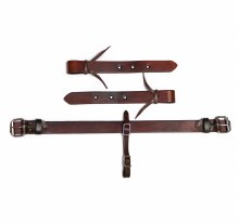 Pony Antique Brown Leather Back Cinch Mini Horse Girth