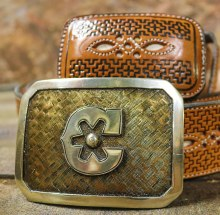 "Hebilla ""C"" Belt Buckle"