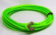 34 ft Neon Green Kids Rope Lariat Soga nino