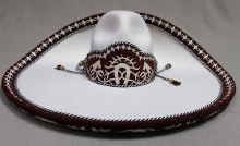 Sombrero Charro Blanco (MX 56)
