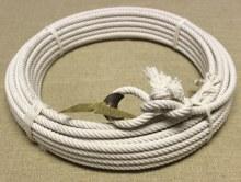 """65FT. (3/8"""") Cotton Reata Rope Lariat"""