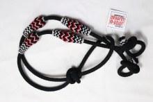 Riendas Black boton blanco Rojo reins