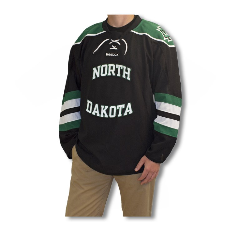 UNIVERSITY OF NORTH DAKOTA REEBOK REPLICA HOCKEY JERSEY