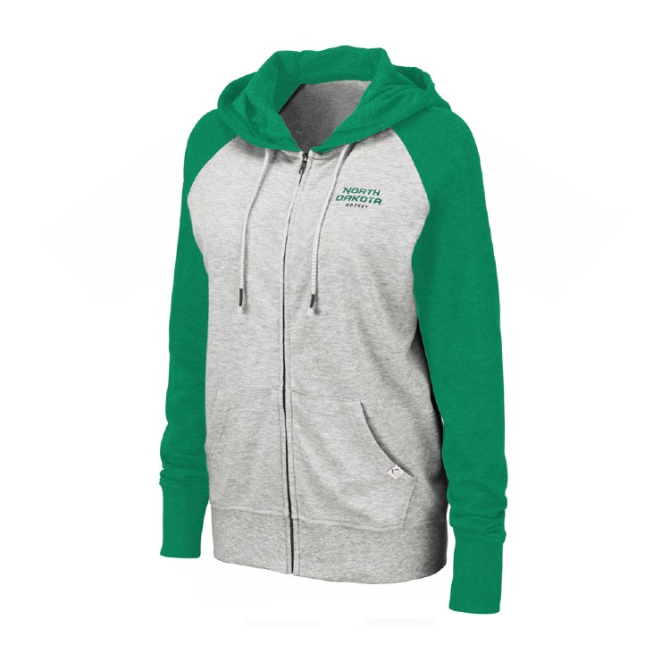 UNIVERSITY OF NORTH DAKOTA HOCKEY WOMENS TRENTO ZIP HOOD