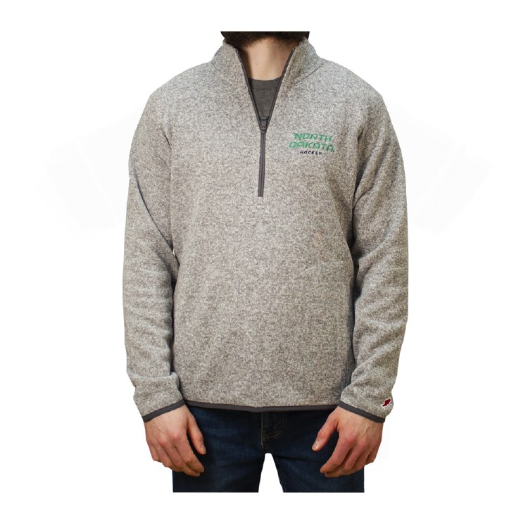 UNIVERSITY OF NORTH DAKOTA HOCKEY SARANAC 1/4 ZIP