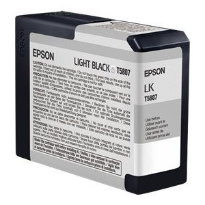Epson T580 Series Inks T5807 Light-Black ink