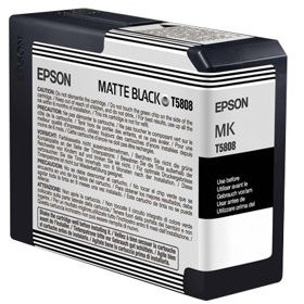 Epson T580 Series Inks T5808 Matte-Black ink