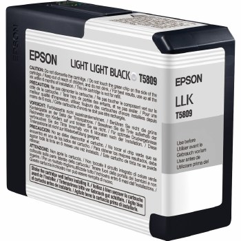 Epson T580 Series Inks T5809 Light-Light-Black ink