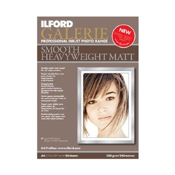 Ilford Galerie Smooth Heavywei A4 50 Sheets