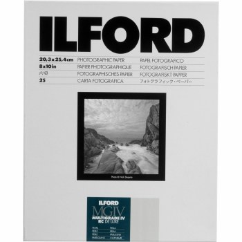 """Ilford MGIV RC Deluxe Pearl 10 x 8"""" 100 Sheets"""