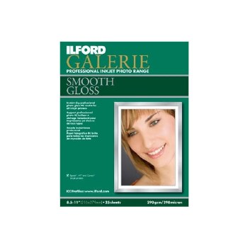 Ilford Galerie Smooth Gloss A3+	 25 Sheets