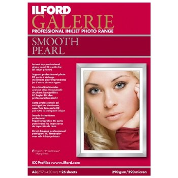 Ilford Galerie Smooth Pearl A3+	 25 Sheets