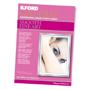 Ilford Galerie Smooth Fine Art A4 10 Sheets