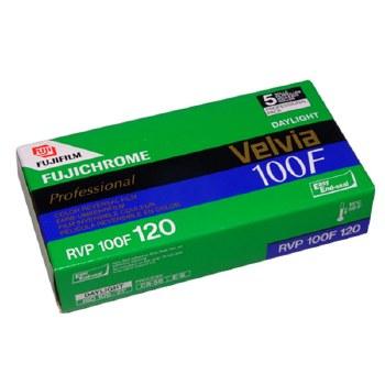 Fujifilm Velvia 100F Professional 120 Film