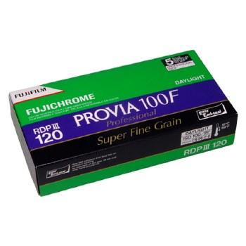 Fujifilm Provia 100F Professional 120 Film