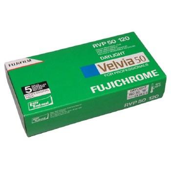 Fujifilm Velvia 50 Professional 120 Film