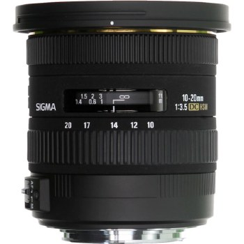 Sigma 10-20mm F3.5 EX DC HSM For Nikon F