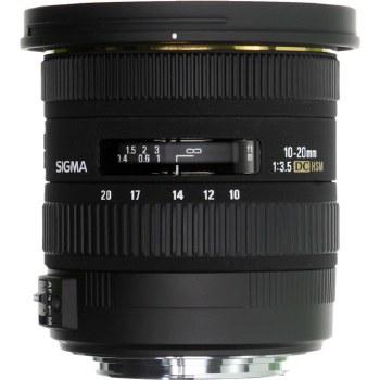 Sigma 10-20mm F3.5 EX DC HSM For Nikon F