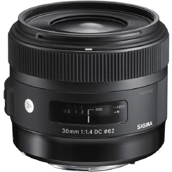 Sigma  30mm F1.4 DC HSM For Canon EF