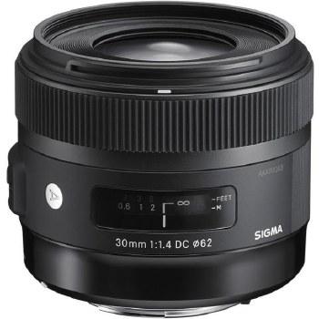 Sigma 30mm F1.4 DC HSM For Nikon F
