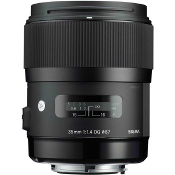 Sigma  35mm F1.4 DG HSM Art For Canon EF