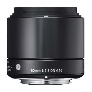 Sigma 60mm F2.8 DN Art Black For Micro 4:3