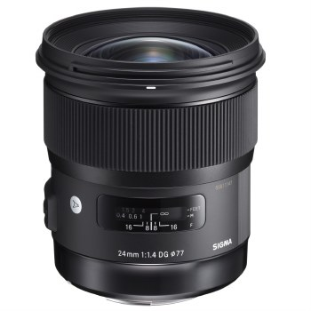 Sigma 24mm F1.4 DG HSM Art For Canon EF