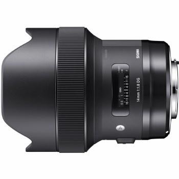 Sigma  14mm F1.8 DG HSM Art For Sony E-Mount