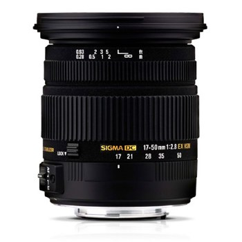 Sigma 17-50mm F2.8 EX DC OS HSM For Canon EF