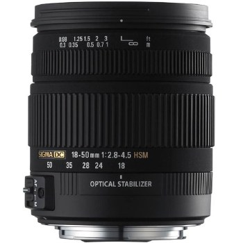Sigma 18-50mm F2.8-4.5 HSM Aspherical OS DC For Nikon F