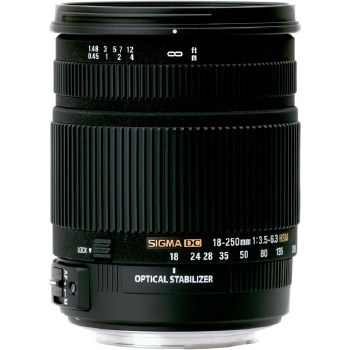 Sigma 18-250mm F3.5-6.3 DC OS For Sony A-Mount