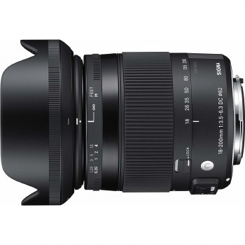 Sigma  18-200mm F3.5-6.3 Contemporary DC OS HSM For Canon EF