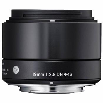 Sigma 19mm F2.8 DN Art Black For Sony E-Mount